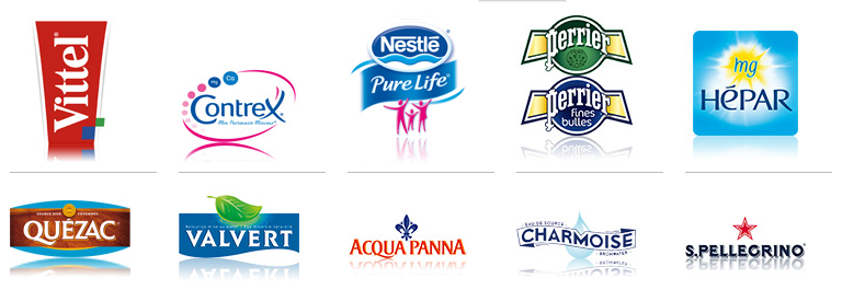 Nestle waters products