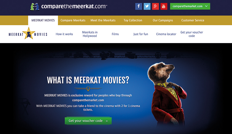 Comparethemarket.com - Meet the Meerkats