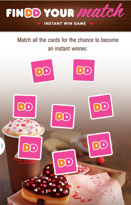 Dunkin' Donuts rolls out mobile moments via holiday-themed games
