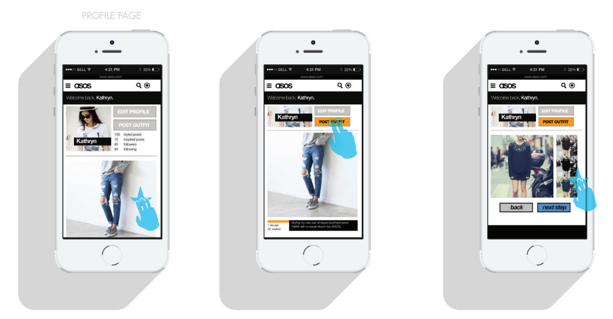 ASOS mobile experience